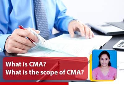 scope of cma in india