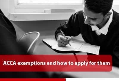 acca exemption
